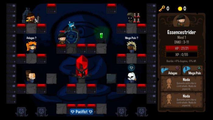 Análise Arkade: as loucas dungeons verticais de Vertical Drop Heroes HD