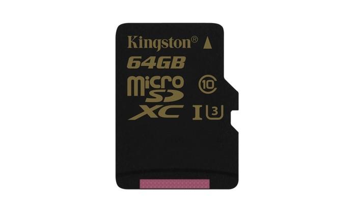 Kingston anuncia cartões microSD de alto desempenho, de sua linha Gold