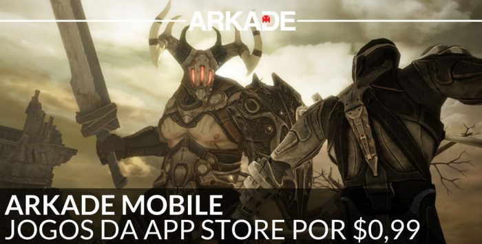 Arkade Mobile: Infinity Blade, Assassin's Creed e mais jogos na App Store por US$0,99