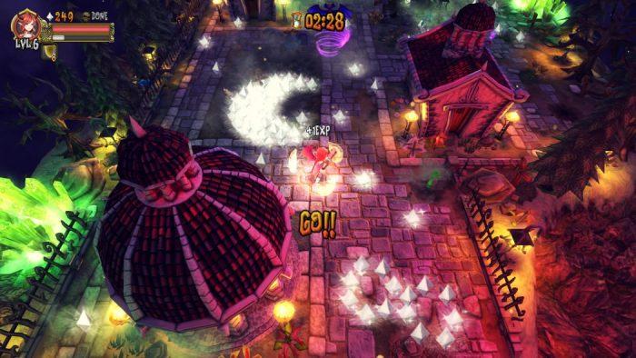 Análise Arkade: Demon's Crystals é tiro pra todo lado!