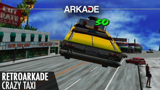 RetroArkade: Crazy Taxi e o divertido caos no trânsito