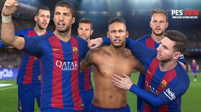 PES 2018 lança teaser e tem o Barcelona como grande atração novamente