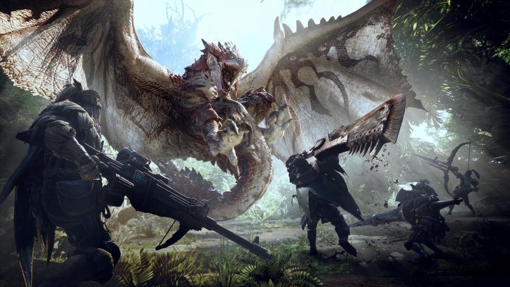 Monster Hunter World ganha vídeo com mais de 20 minutos de puro gameplay - Arkade