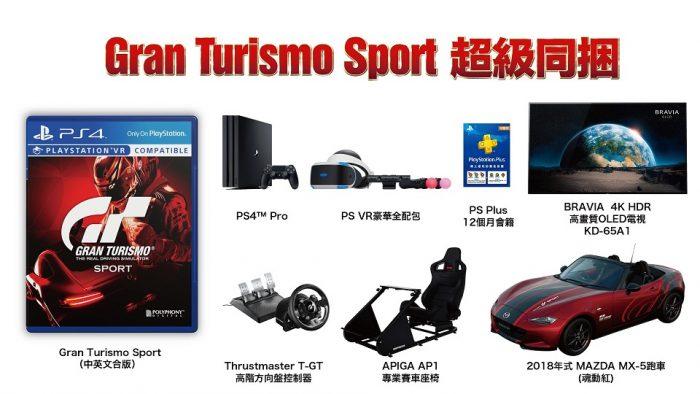 Existe um bundle de Gran Turismo Sport que vem com um carro de verdade