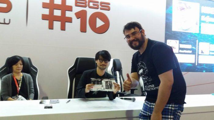 BGS 2017: Hideo Kojima é premiado com o Lifetime Achievement Award e tem sessão de autógrafos
