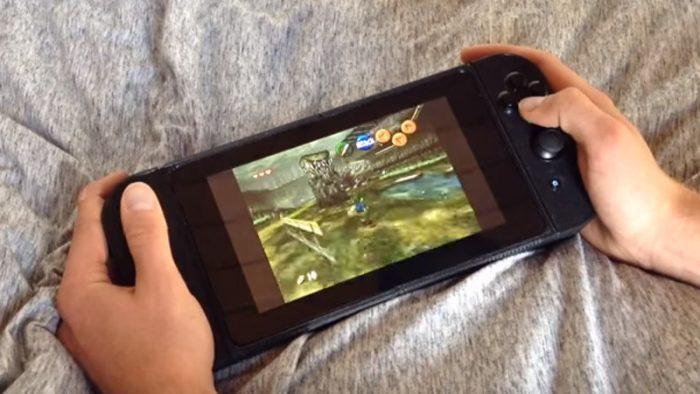 Este Nintendo Switch modificado foi criado para rodar jogos retrô