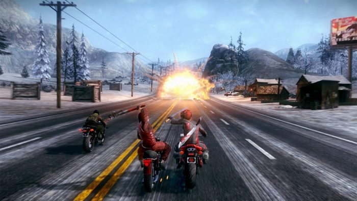 Análise Arkade: Acelere sua moto e libere sua brutalidade em Road Redemption