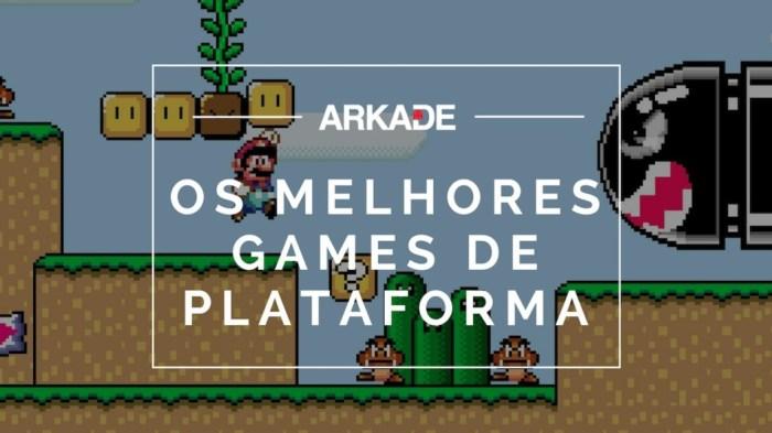 Top 10 Arkade - Os melhores jogos de plataforma de todos os tempos