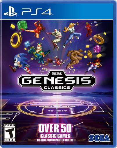Coleção de Mega-Drive a caminho de PC, PS4, e Xbox One