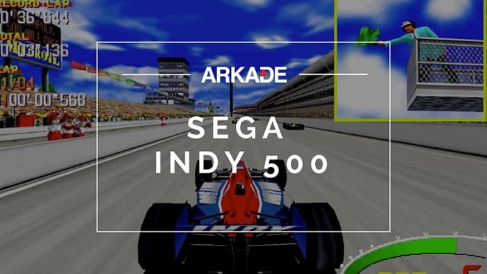 RetroArkade - SEGA Indy 500 levou a ação do oval para os arcades dos anos 90