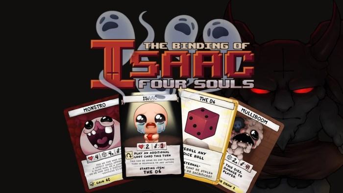 The Binding of Isaac se tornará um card game físico com foco em multiplayer e traição