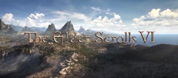 E3 2018: Bethesda apresenta Starfield e The Elder Scrolls VI!