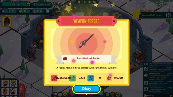 Análise Arkade: Holy Potatoes! A Weapon Shop?!, um jogo recheado de referências!