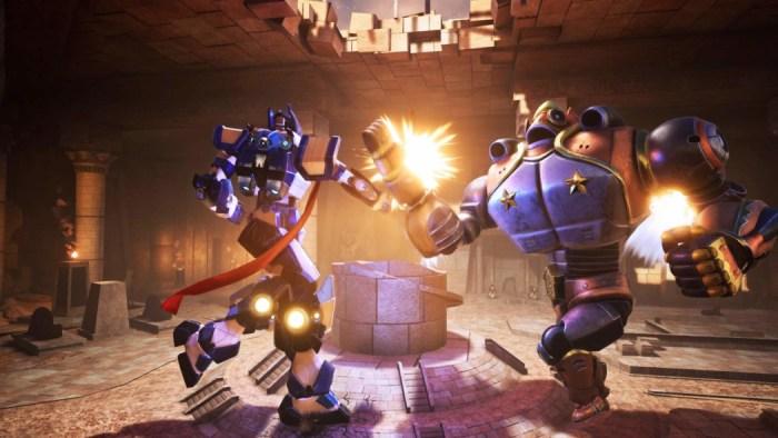 Override: Mech City Brawl é um jogo brasileiro de pancadaria entre robôs gigantes!