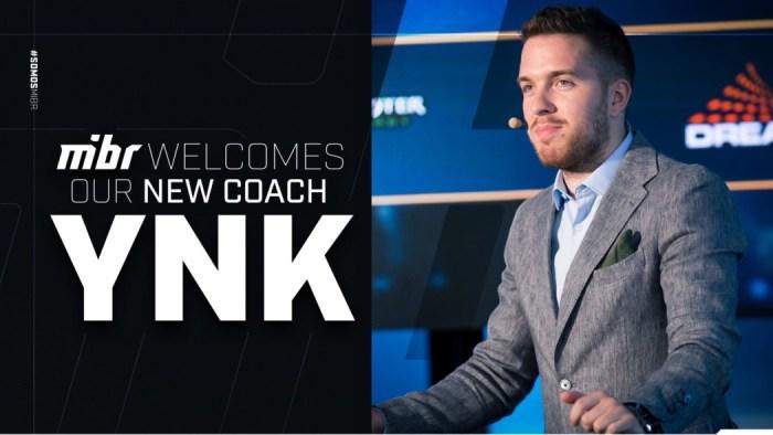 """Janko """"YNk"""" Paunovic é o novo Head Coach do MiBR"""