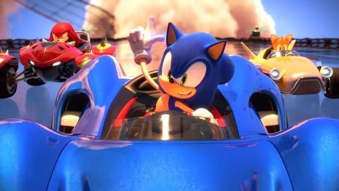 A união faz a força no novo trailer de gameplay de Team Sonic Racing