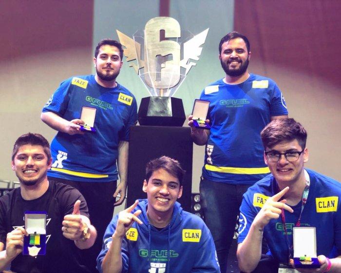 GameXP 2018: FaZe Clan vence o Brasileirão de Rainbow Six