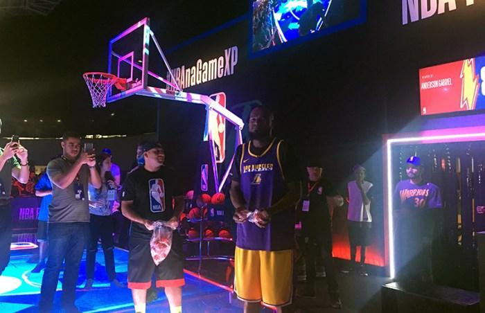 GameXP 2018: Com troféu e game oficiais, NBA se conecta com o fã brasileiro
