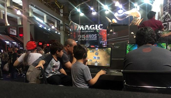 BGS 2018 - Magic: The Gathering quer espaço no eSport com seu MTG Arena