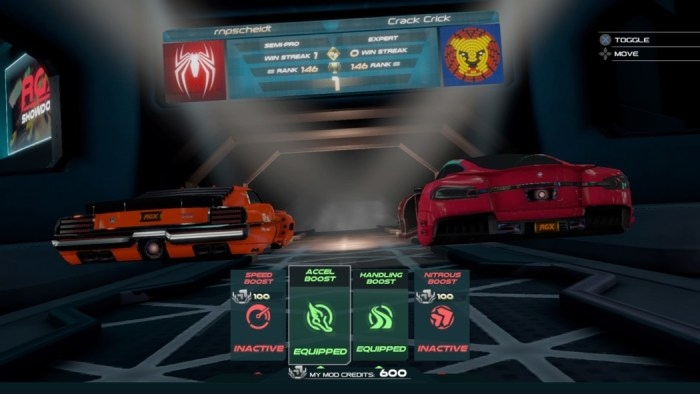 Análise Arkade: as micro-corridas futuristas de RGX Showdown