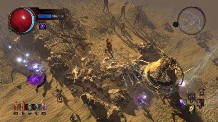 Path of Exile será lançado no Playstation 4 em dezembro