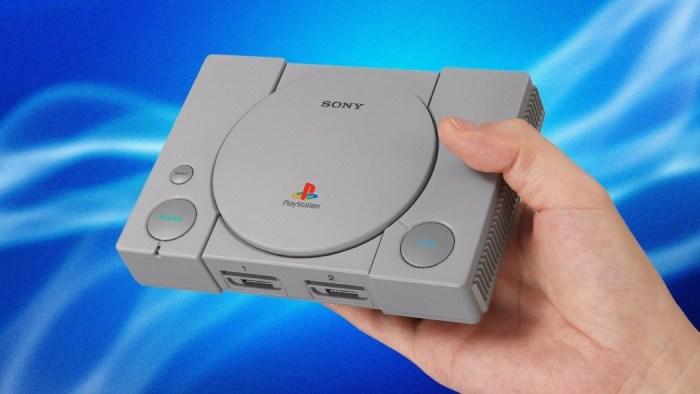 Tem um menu secreto no Playstation Classic que é acessível com teclados específicos