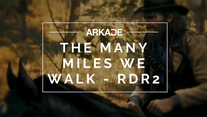 Sound Test Arkade Faixa 31 - The Many Miles We Walk - Red Dead Redemption 2
