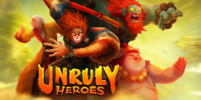 Análise Arkade: o excelente Unruly Heroes dá uma nova cara a uma história clássica