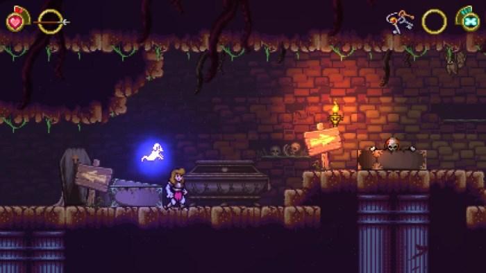 Análise Arkade: Battle Princess Madelyn é um jogo 2 em 1 que homenageia o clássico Ghouls 'n Ghosts