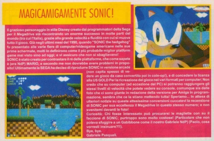RetroArkade: Todas as versões já lançadas de Sonic the Hedgehog