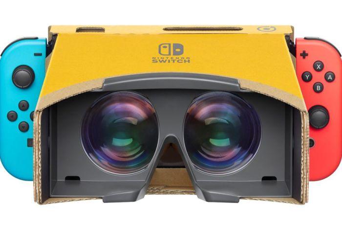 O Nintendo Labo irá ganhar um kit dedicado à Realidade Virtual