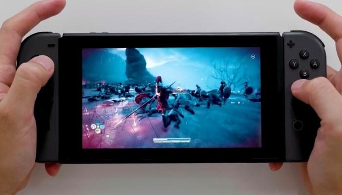 O Nintendo Switch corre por fora nas duas tendências dos games: streaming e VR