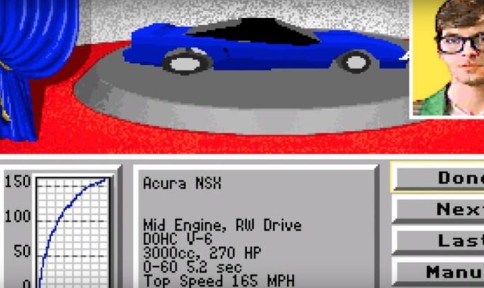 """Arkade Speed - Honda NSX, o """"carro do Senna"""" que também é lenda nos videogames"""