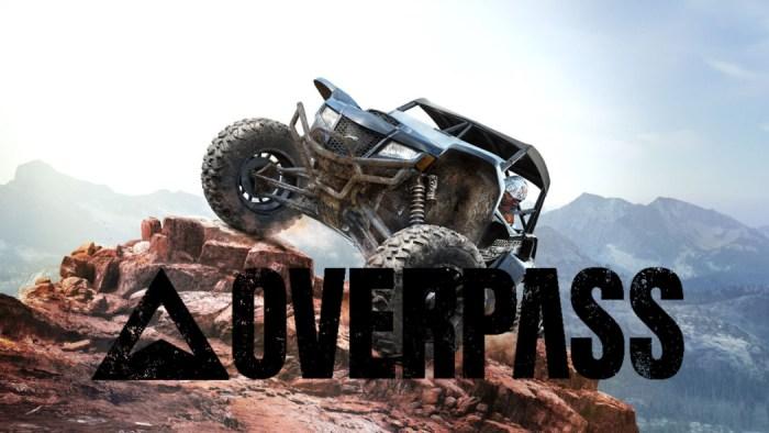 Overpass é um jogo de simulação veicular em ambientes (muito) acidentados