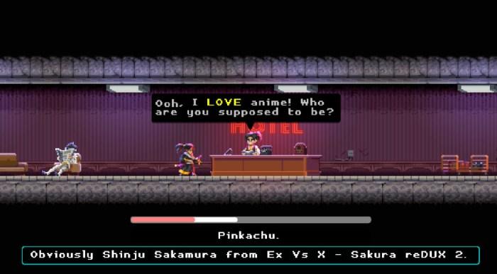 Análise Arkade:  A jornada de um samurai assassino em Katana Zero
