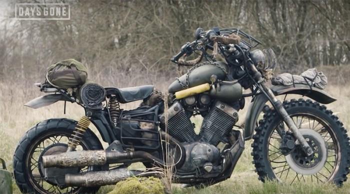 Sony Europeia recriou na vida real a moto de Deacon, de Days Gone