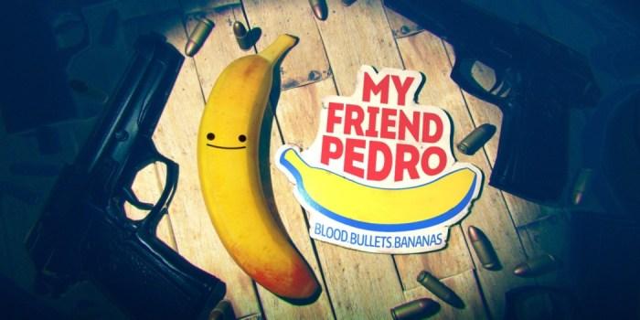 Análise Arkade: My Friend Pedro tem bananas falantes e tiroteios insanos