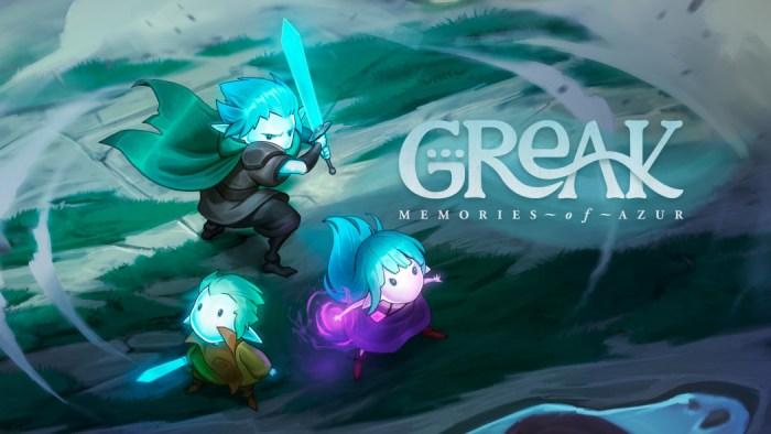Greak: vem aí uma bela aventura 2D desenhada à mão