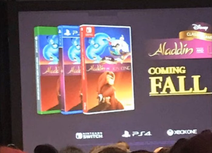 [ATUALIZAÇÃO] Vazamento confirma remasterizações de O Rei Leão e Aladdin de SNES e Mega Drive