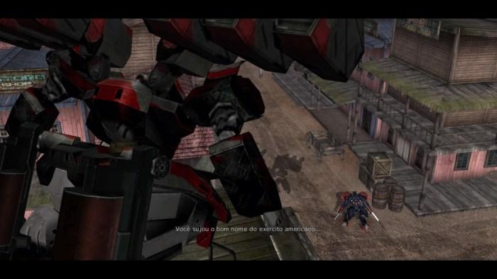 Análise Arkade: O mecha presidencial de Metal Wolf Chaos XD