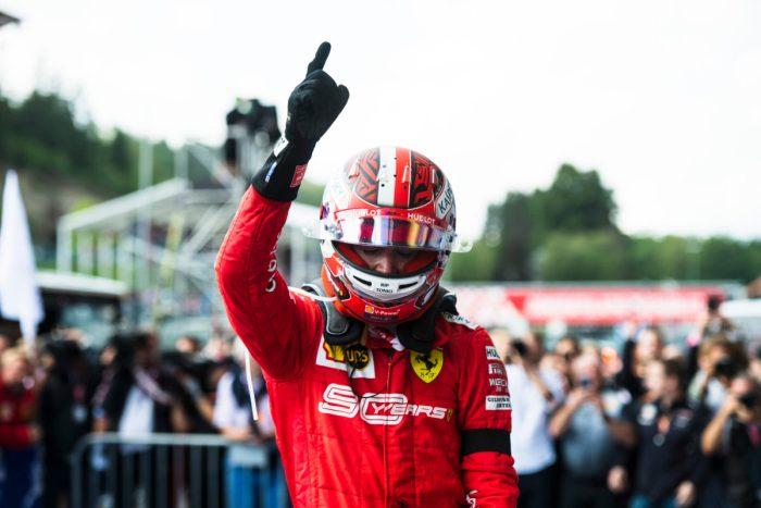 F1 2019 - Acelerando no GP da Bélgica, em prova vencida por Leclerc