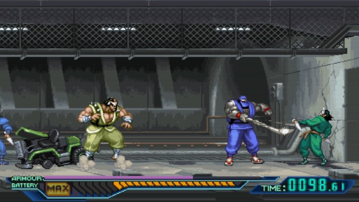 Análise Arkade - The Ninja Saviors: Return of the Warriors é pancadaria (ninja) old school