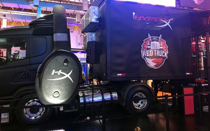 """RED Canids e seu caminhão: uma """"velha nova"""" maneira de buscar talentos e promover o eSport pelo Brasil"""