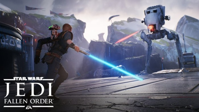 Star Wars Jedi: Fallen Order ganha trailer de lançamento e EA voltará para a Steam