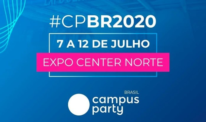 """Campus Party Brasil 2020 """"troca"""" as datas com a CP Brasília e acontecerá em julho"""