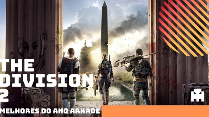 Melhores do Ano Arkade 2019: The Division 2