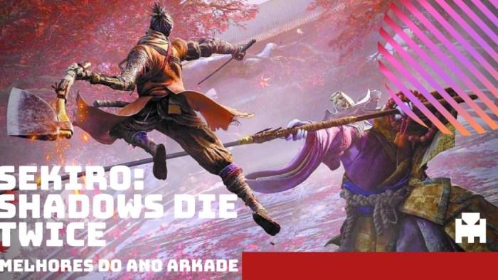 Melhores do Ano Arkade 2019: Sekiro: Shadows Die Twice