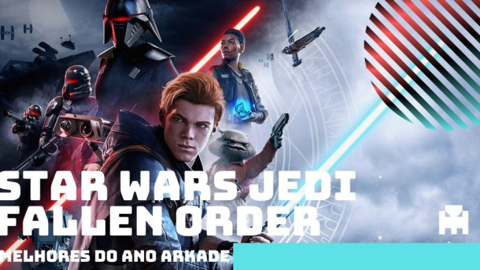 Melhores do Ano Arkade 2019: Star Wars Jedi Fallen Order