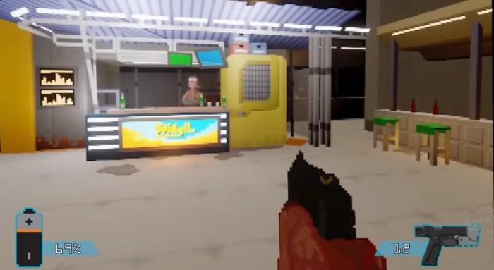 E se Cyberpunk 2077 fosse um jogo de PS1? Alguém criou esse demake em Dreams!