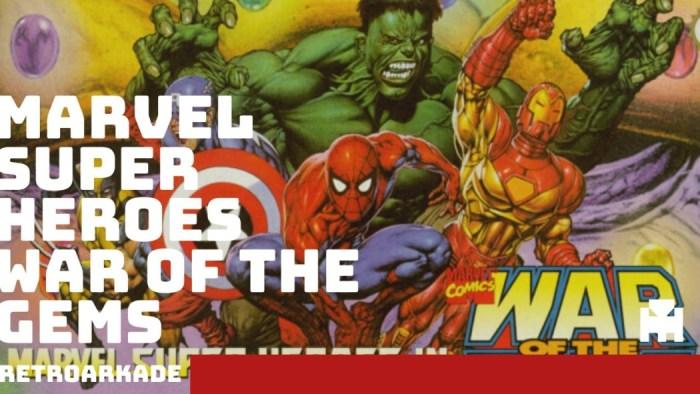 RetroArkade - Marvel Super Heroes War of the Gems